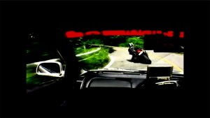 400馬力のランエボ5とスポーツバイク「スズキ GSX-R1000」が日本の峠で本気バトル!!